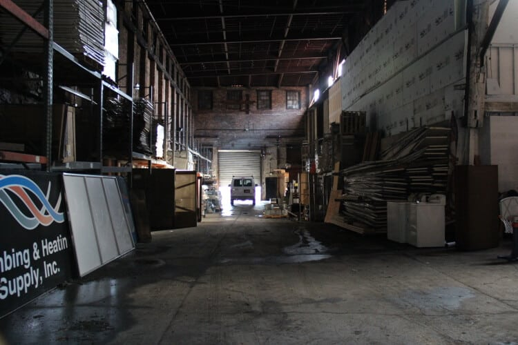 available industrial space for lease in Newburgh, NY