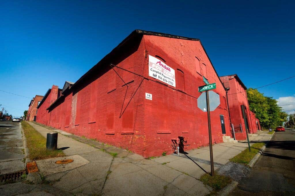 Historic commercial warehouse space at 1-15 South Colden Street, Newburgh, N.Y.