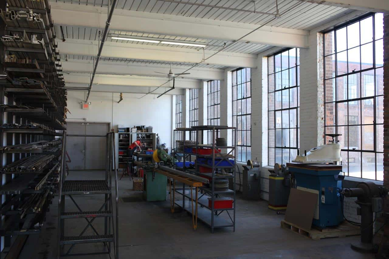 historic manufacturing space