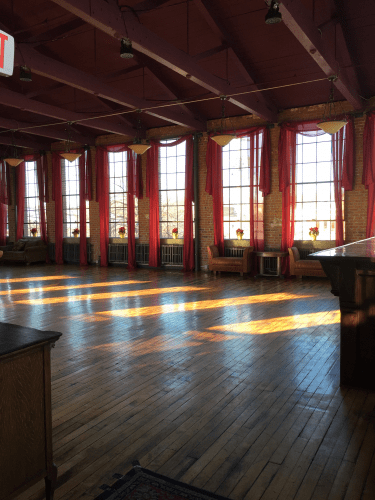 Beautiful loft space in 9000 square foot warehouse property at 299 Washington Street