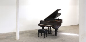Queen Of The Hudson Piano permanently on loan to David Ludwig from Peter Helm