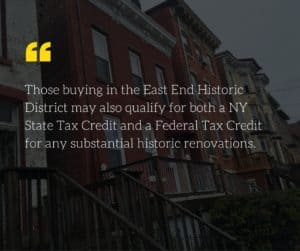 Sales of city owned properties picks up momentum and many may qualify for a N.Y. State Tax credit as they are in Newburgh's East End Historic District