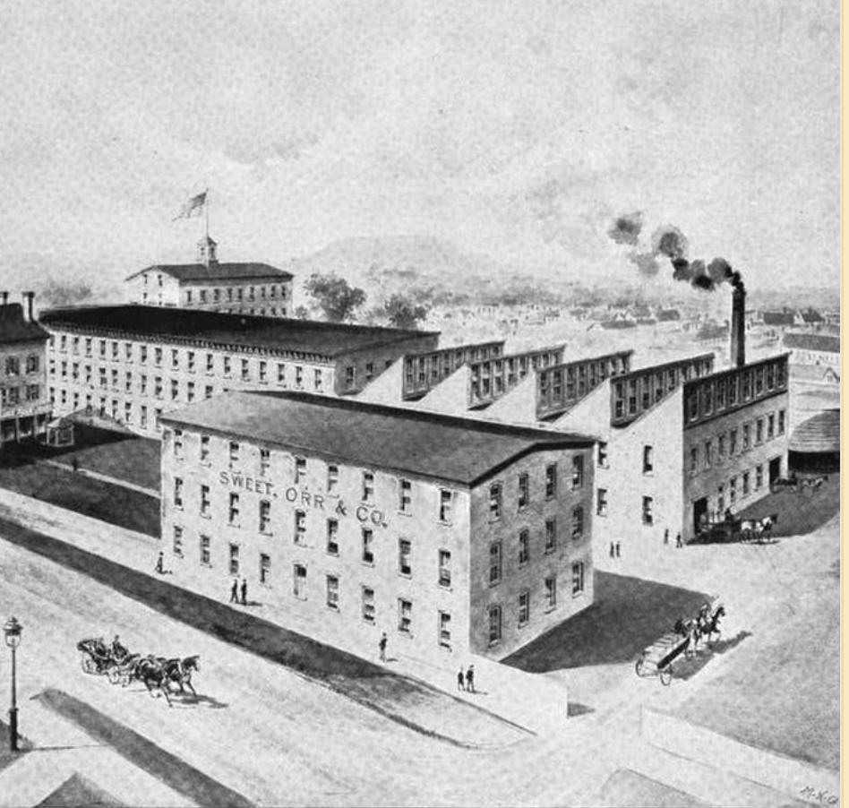 The Sweet Orr Factory, Newburgh, N.Y.