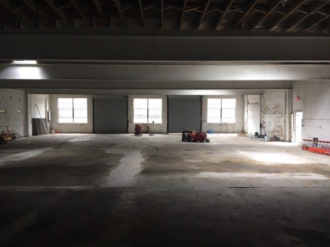 clear span warehouse