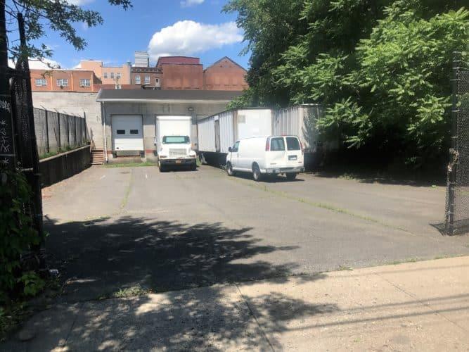 105 Ann st rear loading dock