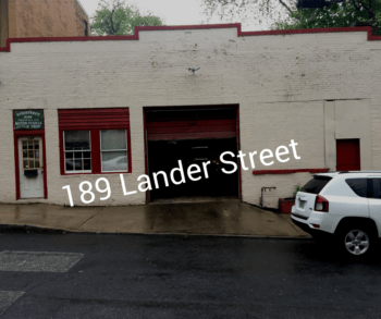 Front of building view of 189 Lander Street Newburgh NY Garage/Automotive Use Building for Sale