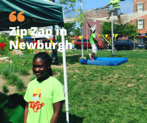 Zip Zap Circus Inspires Newburgh kids