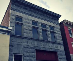 Columbia Engine Company at 255 Broadway, Newburgh, N.Y.