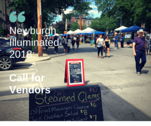 Call for Vendors: Newburgh Illuminated 2018