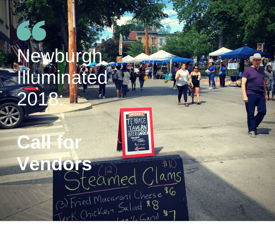 Vendor Call: Newburgh Illuminated 2018