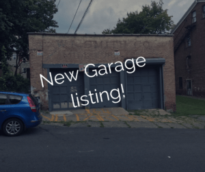 164 Ann Street Garage and space