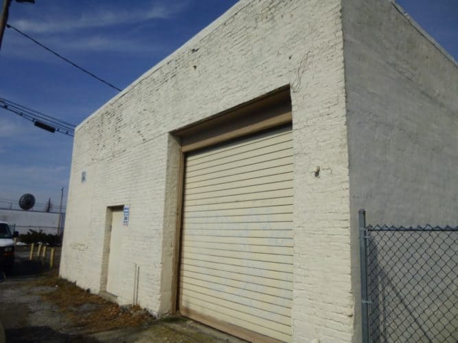 loading dock at the storefront retail and warehouse space opportunity on 327 Broadway in Newburgh