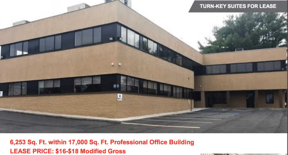 Time Plaza Office Suites for Lease 53 Route 17 K 17,000 ft directly opposite Target Plaza, Newburgh, N.Y.