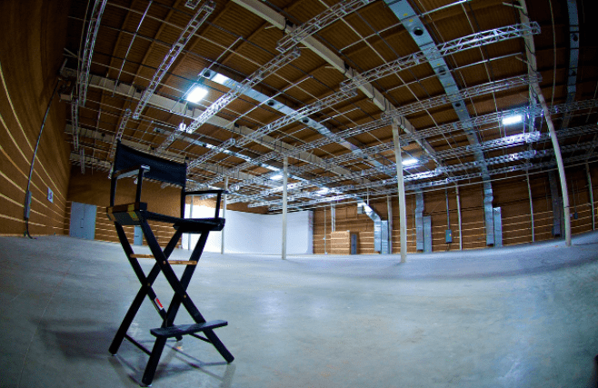 16,000 square foot sound stage available for rent at Umbra Newburgh