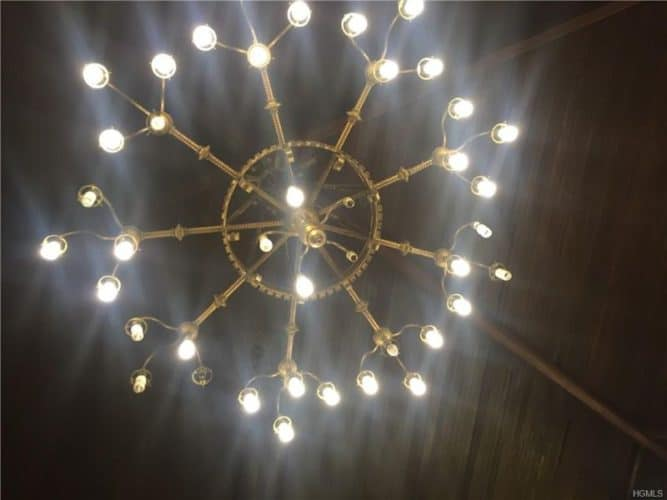 Newburgh church chandelier
