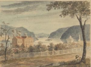 Andrew Jackson Downing's Estate on Grand Street, Newburgh