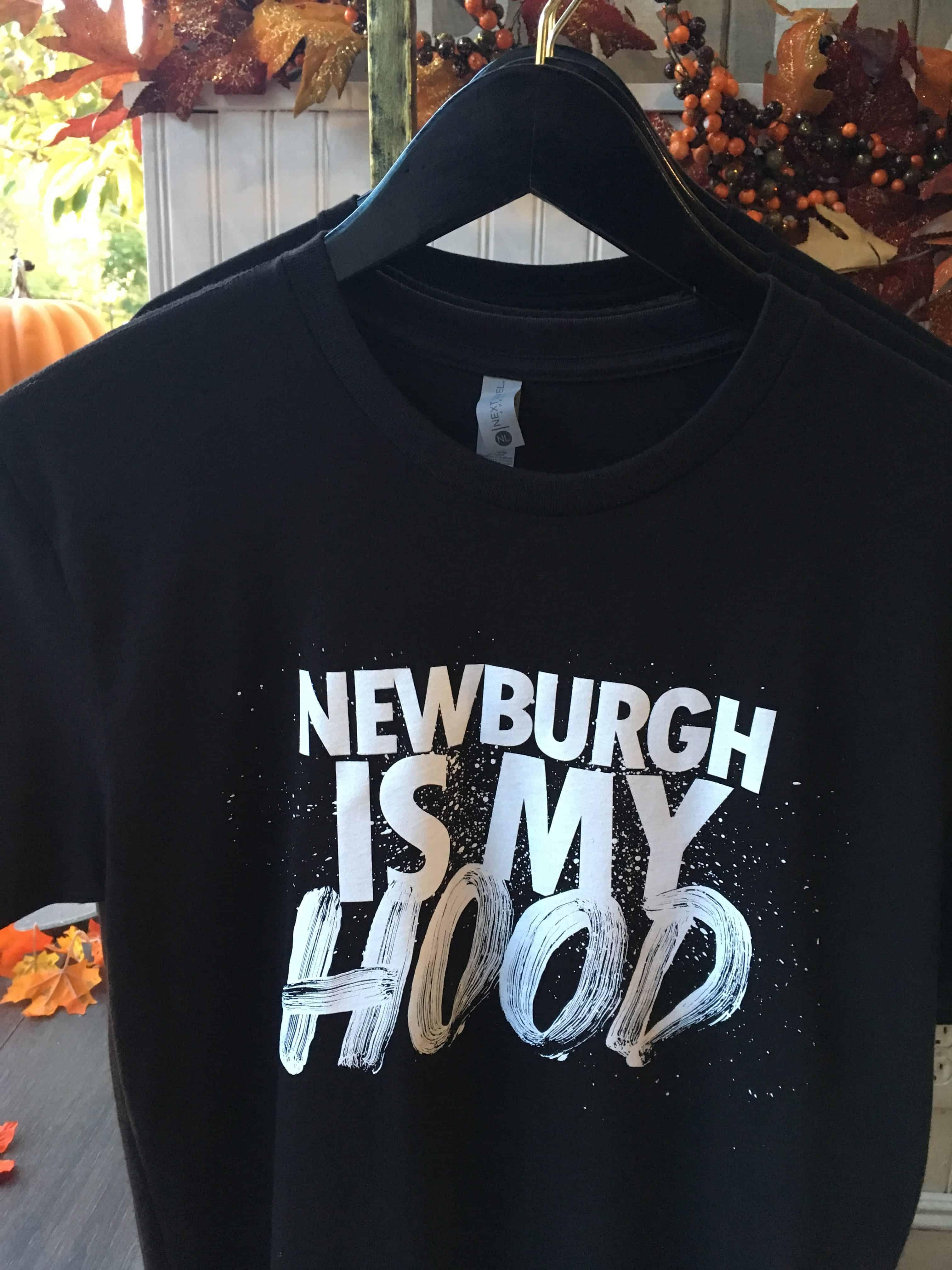 Newburgh is my hood T-shirt printed by Newburgh's Newburgh's Color Cube A Premium T-Shirt Printer