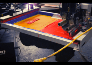 ColorCube screen printing machine
