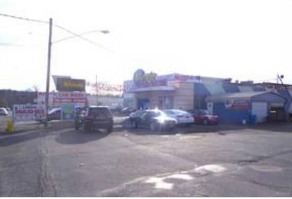 Car wash overview at 146 160 RTE 9W Newburgh, NY
