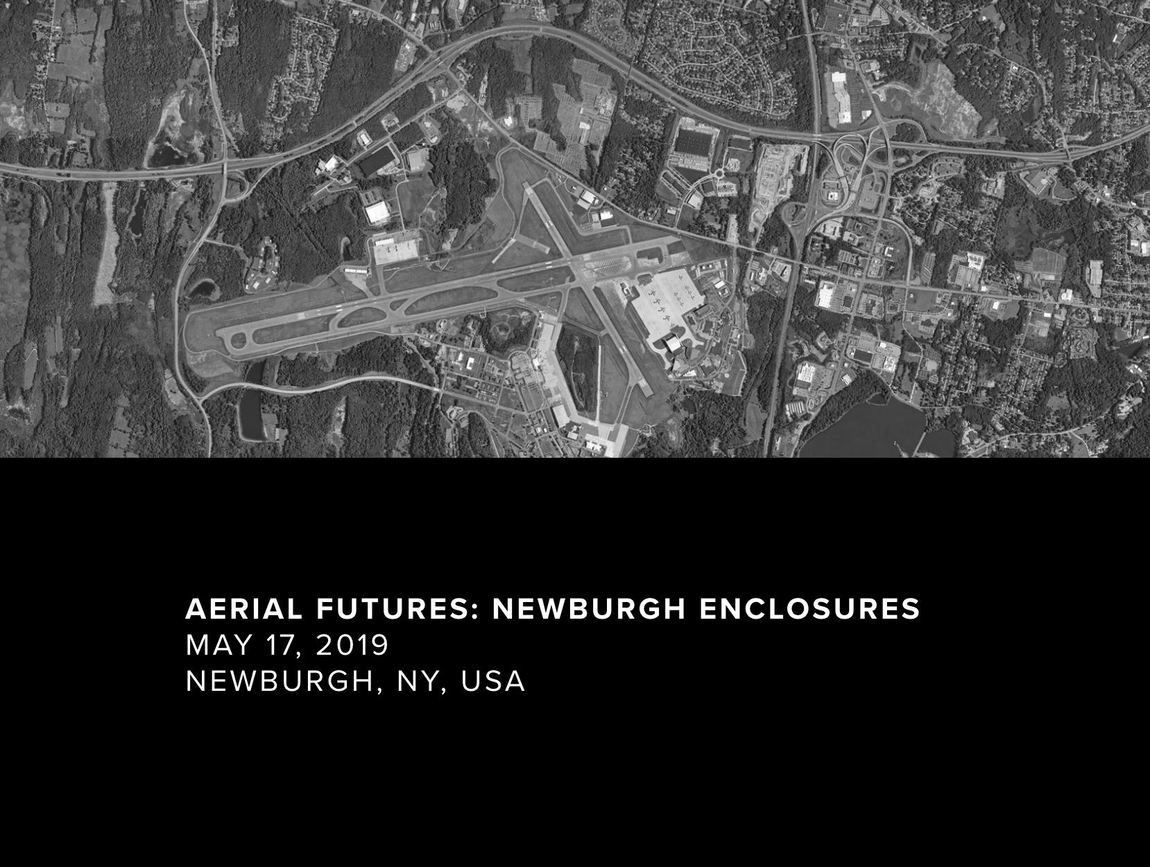 Aerial Futures Newburgh Enclosures May 17th at Atlas Studios