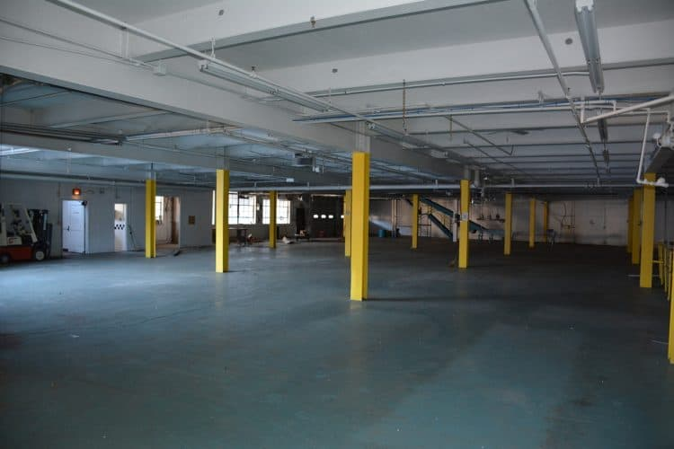 Interior of Warehouse at 420 Montgomery, Newburgh, N.Y.