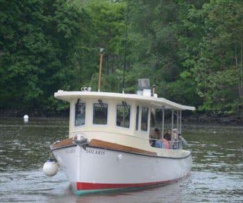 Newburgh Open Studios Pilot Ferry boat between Newburgh and Beacon a First!