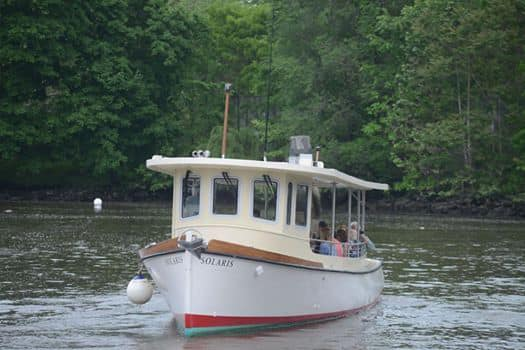 Newburgh Open Studios Pilot Ferry boat between Newburgh and Beacon a First!