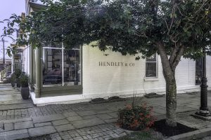 Hendley and Company an Interior Design Shop on Liberty Street in Newburgh, N.Y.