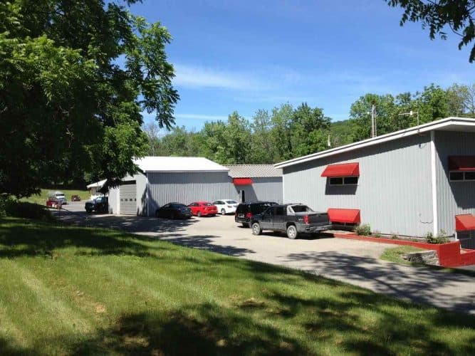 Backyard of Industrial Property for Sale at 238 Gardnertown Road