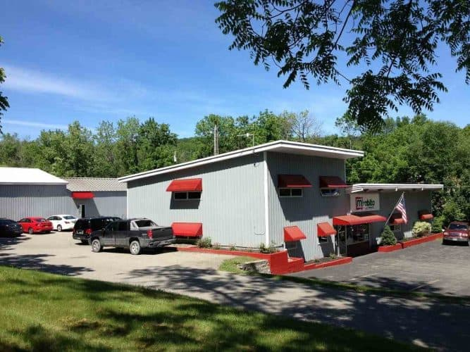 Entrance of Industrial Property for Sale at 238 Gardnertown Road