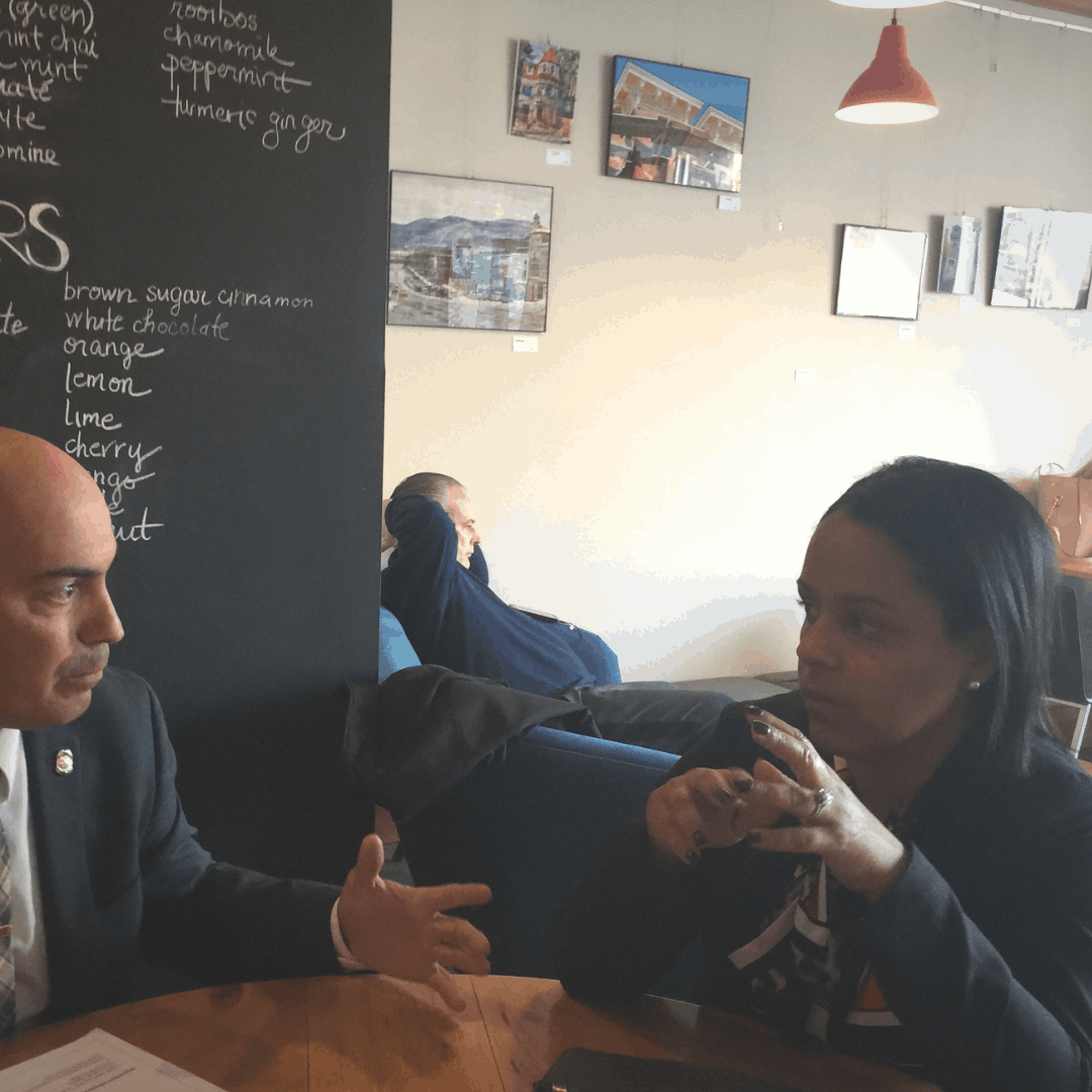Lieutenant Joe Cortez and Isabel Rojas of the Orange County DA's Office discuss an upcoming Call In. Call In's deploy David Kennedy's successful Focussed Deterrence theories to reduce gun violence