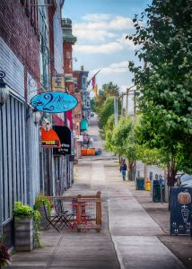 Broadway in Newburgh might one day be home to both CBD product retailers and CBD research and processing facilities.