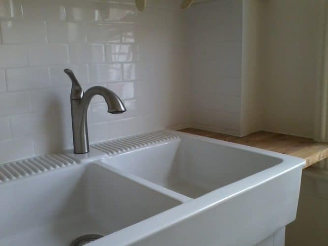 87 Liberty Street kitchen sink