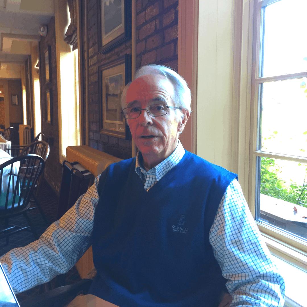 Founding member of Habitat Newburgh and First President, Bill Murphy