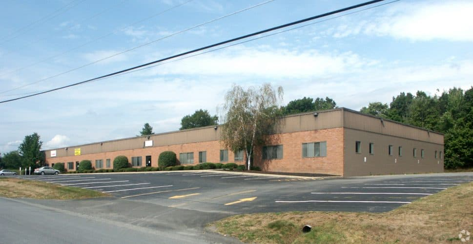 Industrial Space for Lease at 5 Jeanne Dr, Newburgh NY, Rear View