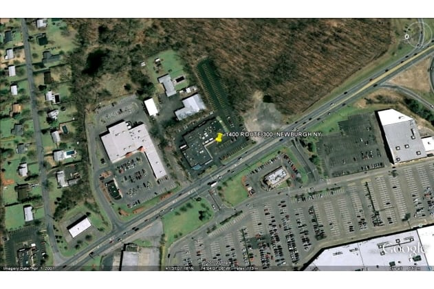 Retail Space for Lease at 1400 Route 300, Newburgh, NY, 12550 Overhead View