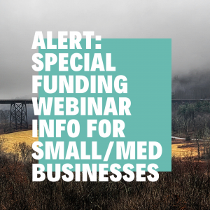 Orange County IDA hosts special funding webinar an April 2, 2020 4:00 pm