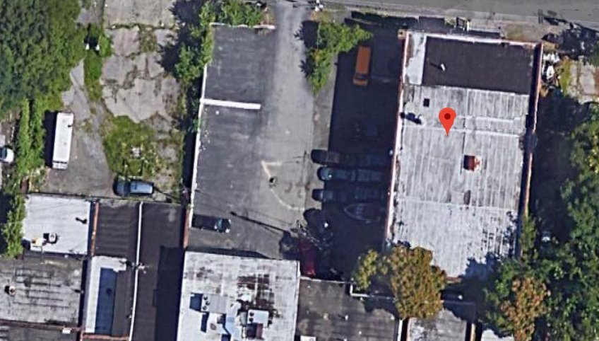 Industrial Space for lease at 179 Van Ness St, Newburgh, aerial view