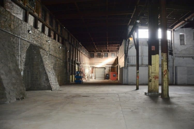 Industrial Space for Lease at 1-15 S Colden St in Newburgh, New York interior full view