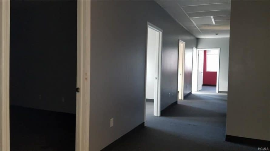Office building for sale at 155 West Street in Newburgh, New York lobby