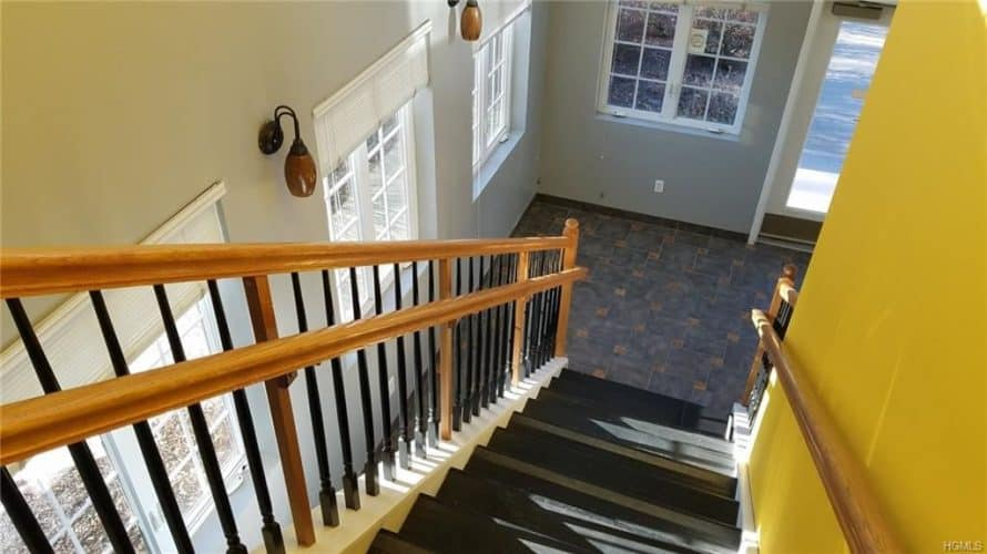 Office building for sale at 155 West Street in Newburgh, New York stairway
