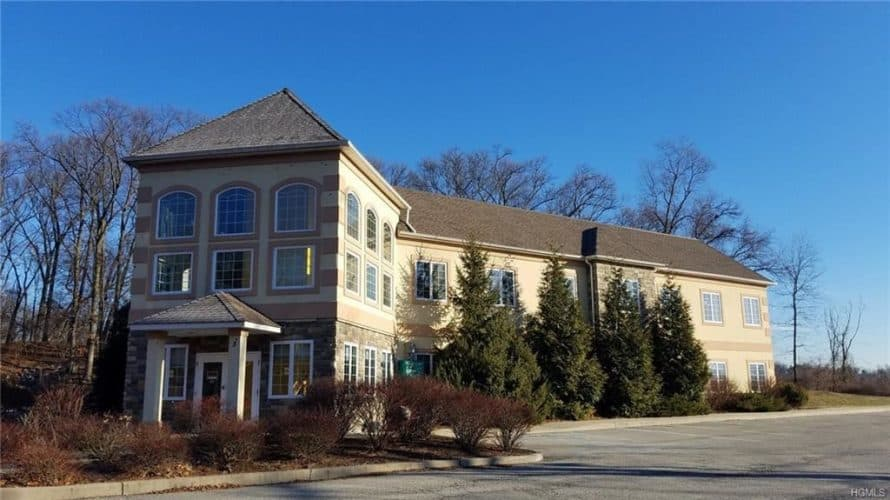 Office building for sale at 155 West Street in Newburgh, New York view from street