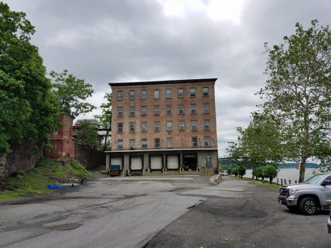 300 SF Flex Space for Lease at 302 N Water St in Newburgh, New York loading docks 2nd floor